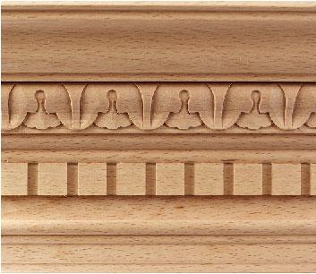 Moulures sculptées